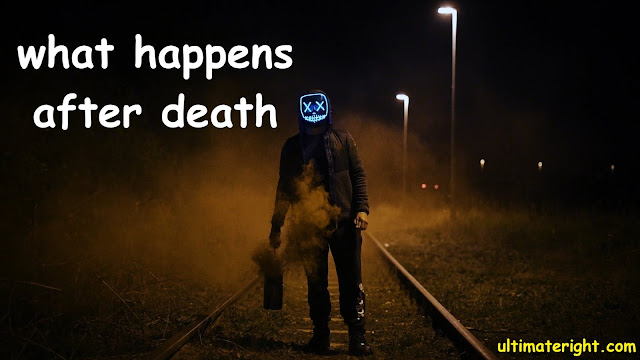 what happens after death