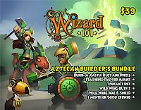 Wizard101 Aztecan Builder's Bundle