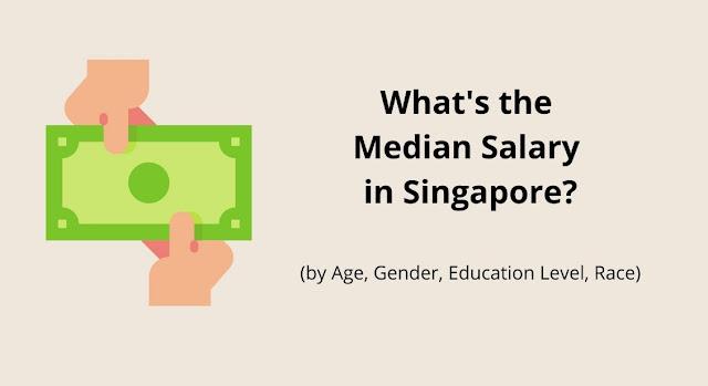 Was ist das Durchschnittsgehalt in Singapur (in jedem Alter, Geschlecht, Bildung und Rasse)