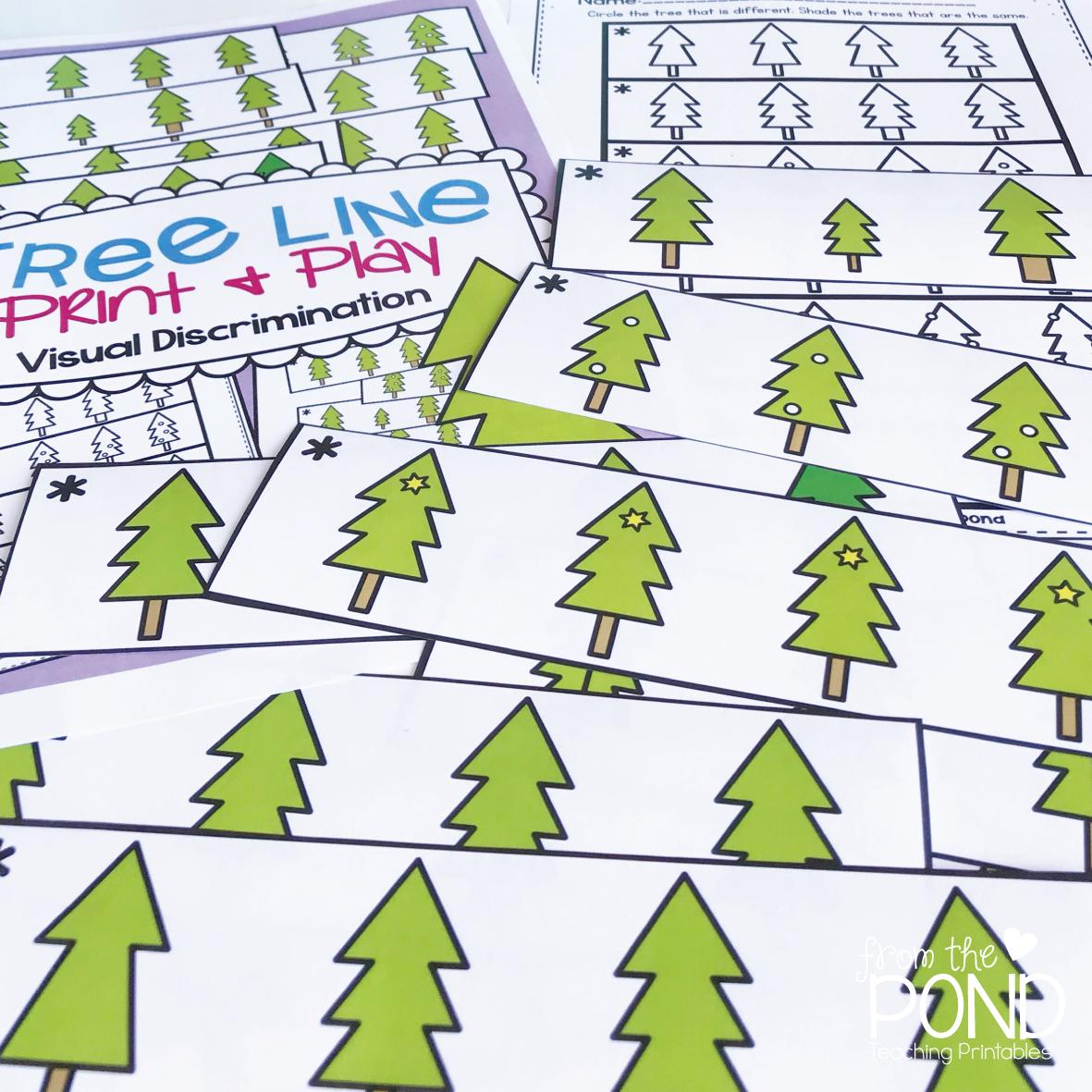Winter Tree Visual Discrimination