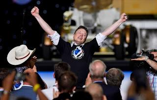 Elon Musk is the richest man