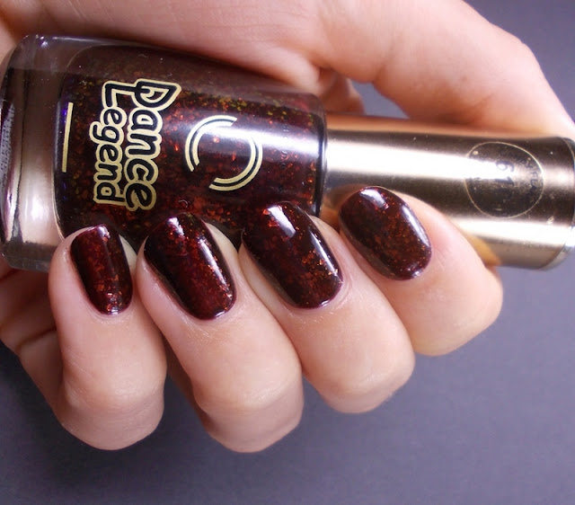 Dance legend Candy flakes 610 Bite Tonight swatch review