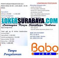 Lowongan Kerja Surabaya di Babo Jaya Stationery Agustus 2020