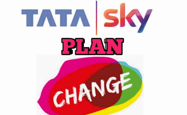 Tata Sky Plan Change
