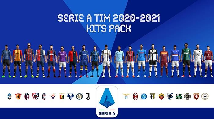 Serie A Kitpack Season 2020/2021 - PES 2013 - CariTauGame
