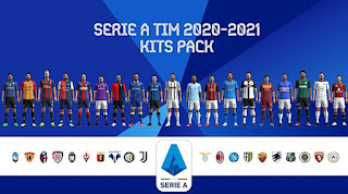 Serie A Kitpack Season 2020/2021 PES 2013