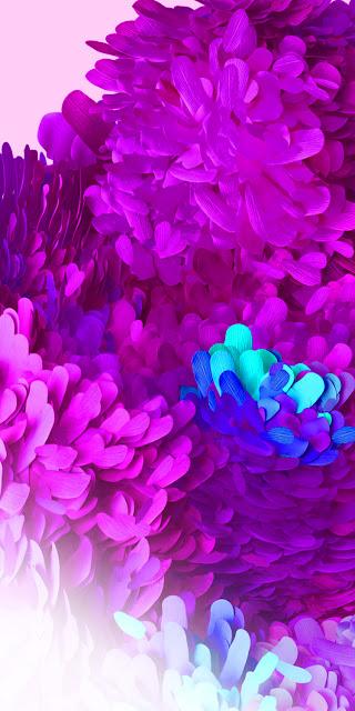 purple hd samsung galaxy s20 4k wallpaper