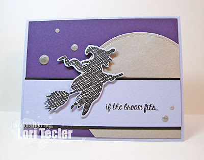If the Broom Fits card-designed by Lori Tecler/Inking Aloud-stamps and dies from Lil' Inker Designs