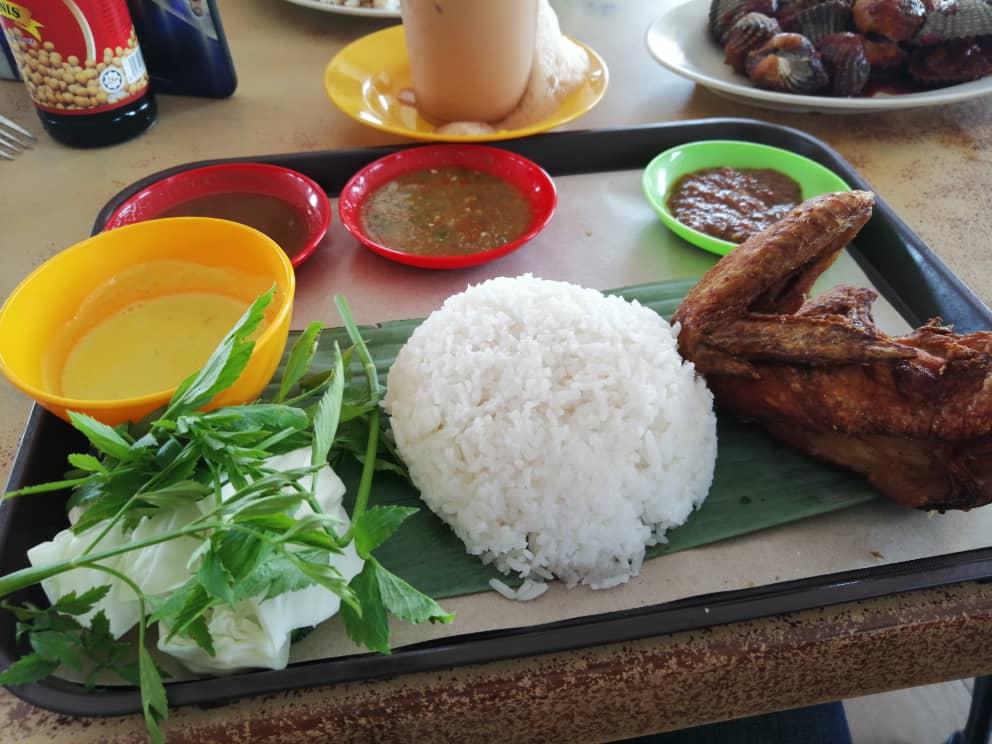 Nasi Dulang Daun Pisang Sg Ramal, Kajang