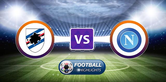 Sampdoria vs Napoli – Highlights