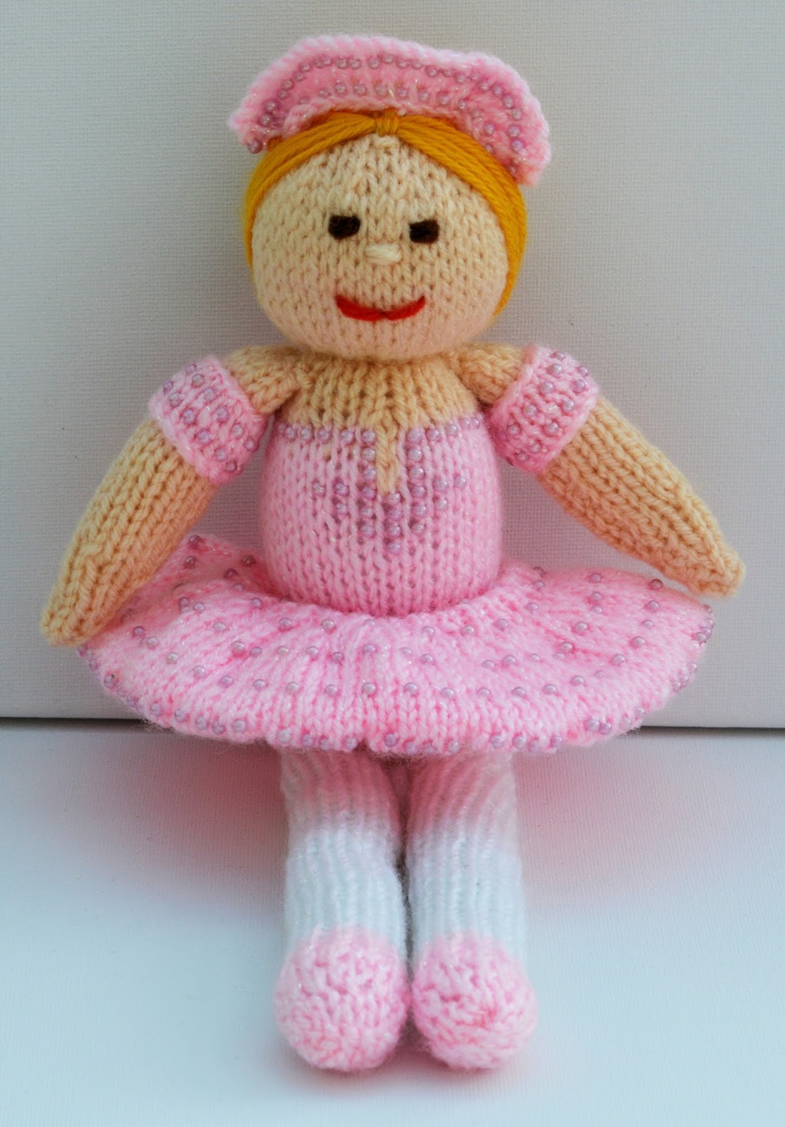 Knitting Pattern Ballerina Doll : Edith Grace Designs: Betsy Ballerina Doll Knitting Pattern