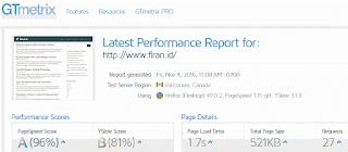 Tools Gratis cek Kecepatan Website dan blog