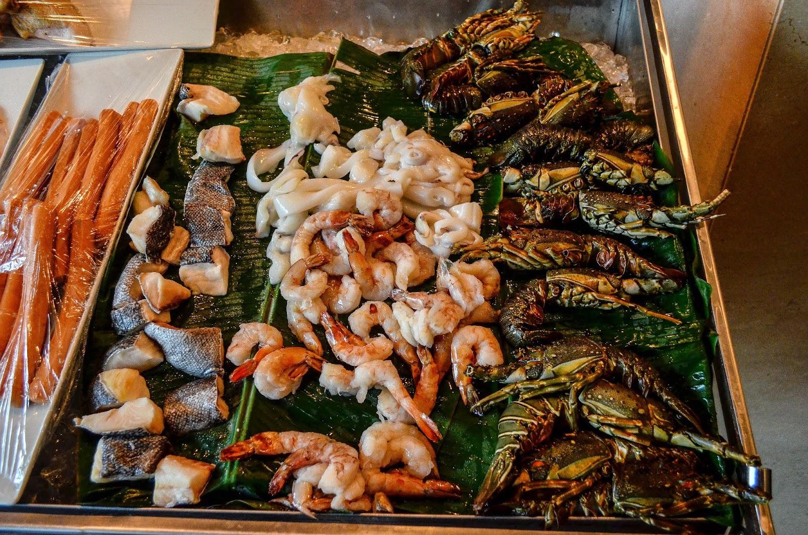 Seafood prego westin
