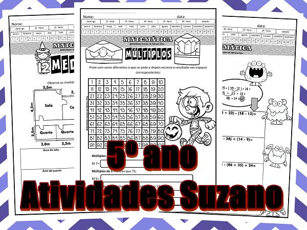 Matemática-medidas-expressões-múltiplos-operações-subtração-adição-atividades-suzano
