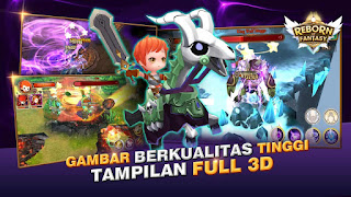 Reborn of Fantasy MOD Apk Data Obb - Free Download Android Game