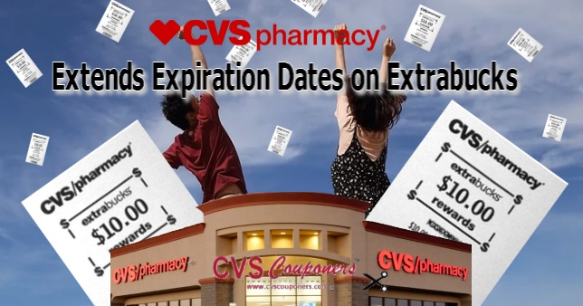 CVS Extends Expiration Dates on Extrabucks
