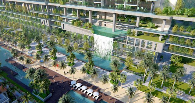 Dự án Sunshine Crystal River Sky Villas Ciputra tổng quan vị trí