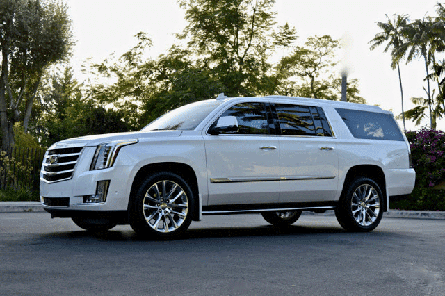 Cadillac Escalade SUV Rental Los Angeles