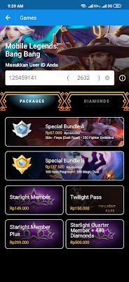 diamonds gratis dari dana