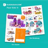 Dusdusan Flyer Medina 2019 Paket 100 Lembar ANDHIMIND