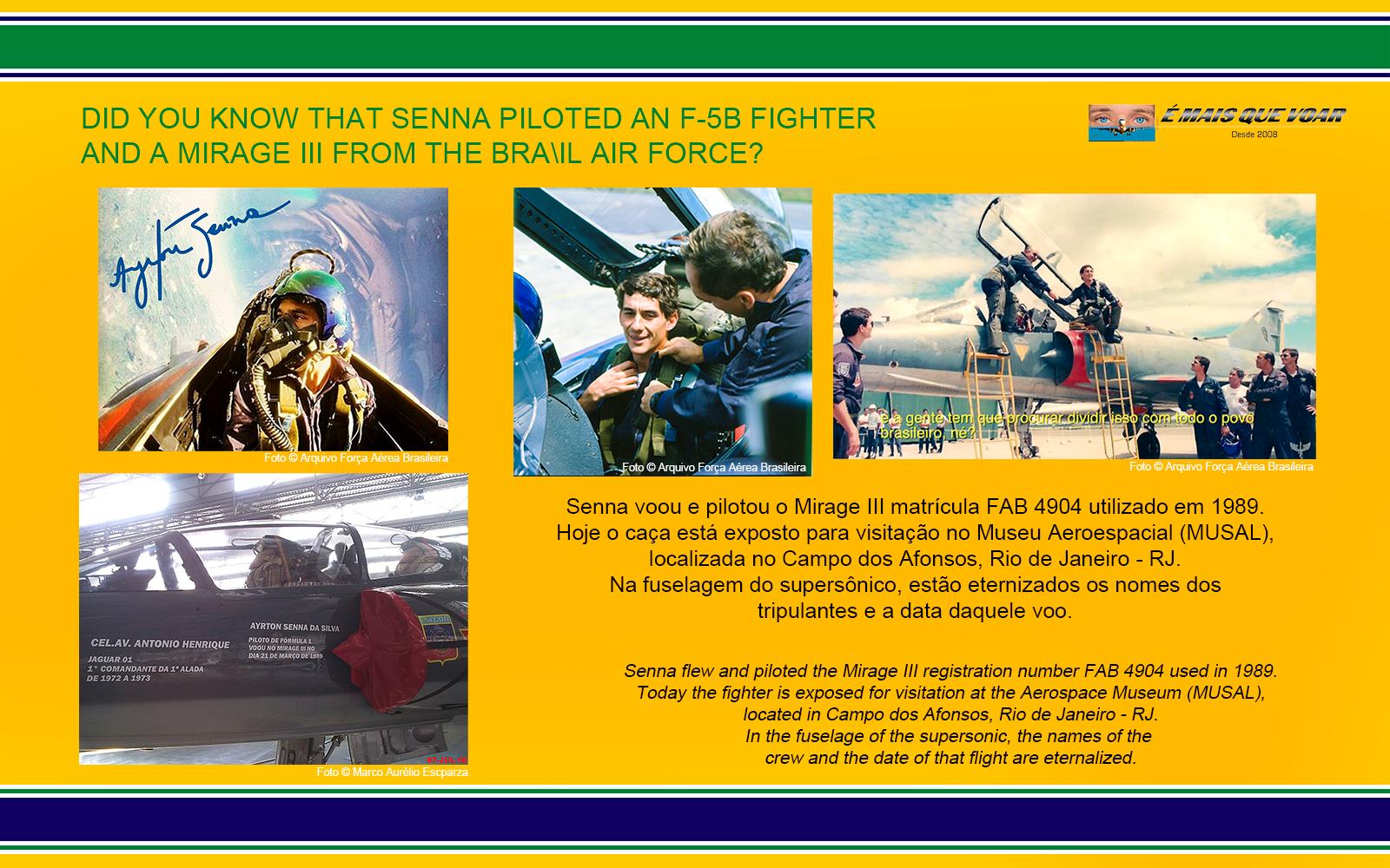 FAB 4904 - Dassault Mirage III - FAB - Força Aérea Brasileira - Os aviões de caça pilotados por Ayrton Senna | É MAIS QUE VOAR
