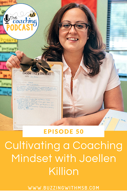 Is your mindset holding you back from achieving success with those you coach? Joellen Killion joins me on the podcast to discuss how to develop a coaching mindset. She shares how to use self-awareness to impact your coaching practice. Listen in to learn about the three mental models and how they influence your relationships with teachers. #coachingmindset #teachermindset #coachingteachers