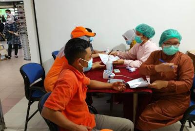 Vaksinasi Covid-19 di kepri Sudah mencapai 22,47 %