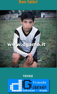 Soluzioni Guess the child footballer livello 20