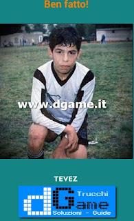 Soluzioni Guess the child footballer livello 20