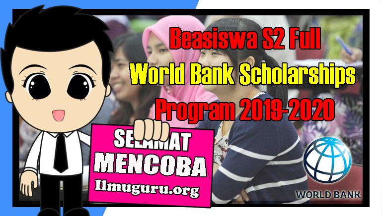 Beasiswa World Bank Scholarships Program