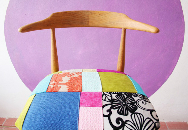 PATCHWORK CHAIRS AND STOOLS TO MAKE
