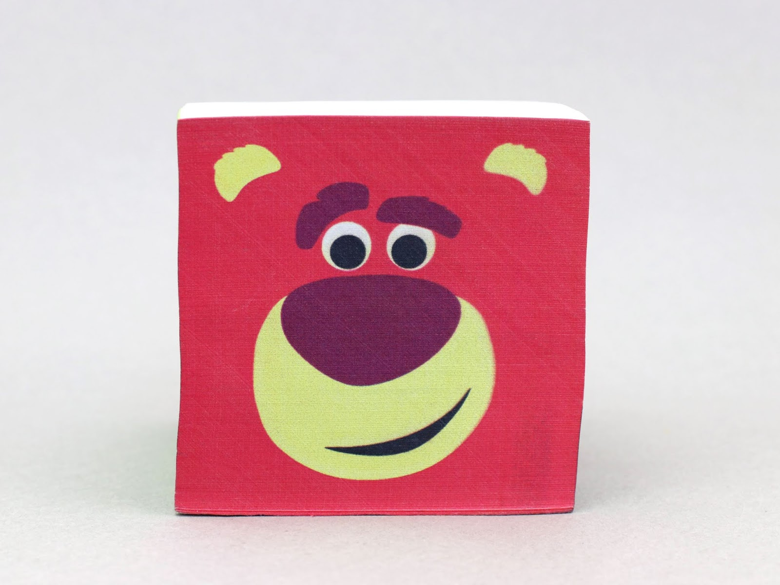 Disney Pixar Sticky Note Memo Desk Cube