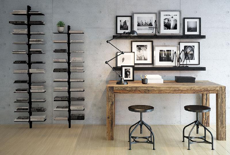 mini libreria da parete Dotto di Studio T