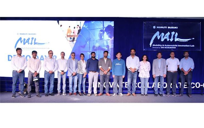 Promoting Innovation: Maruti Suzuki collaborates with 4 new startups under MAIL initiative