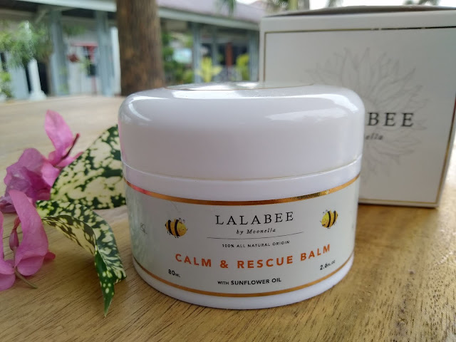 review lalabee calm and rescue balm