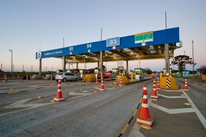 Vai viajar? Pedágio aumentou 7,5% na BR 277 nesta quinta-feira entre trecho Foz e Guarapuava