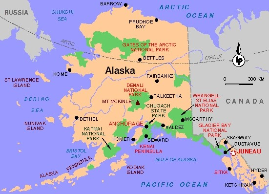 Political Map Of Alaska.Alaska Map Map Pictures