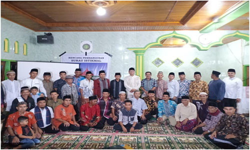 "Wali Kota Payakumbuh,""Sambangi Surau Istikmal Kelurahan Sicincin"