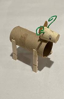 reindeer candy holder party favor