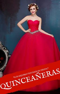 42c8e3811 Imágenes de Fotos De Vestidos De 15 Años Color Rojo