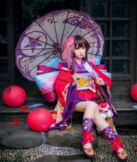 Cosplay Mobile Legend Kagura