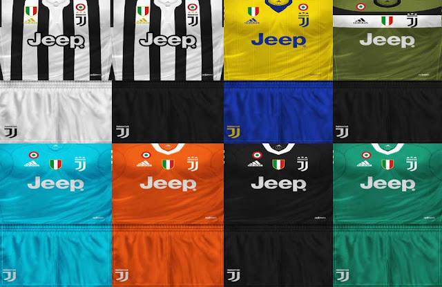 f5a6a5f80 ultigamerz  PES 6 Juventus 2017 18 Full GDB Kits