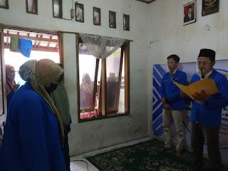 Suasana Syahdu di Komisariat PMII STAI Al-Masthuriyah