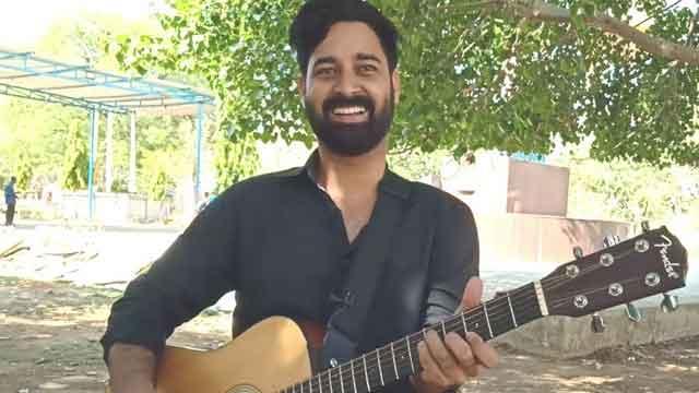 rahgir naam se pahchan banata musician sunil gurjar