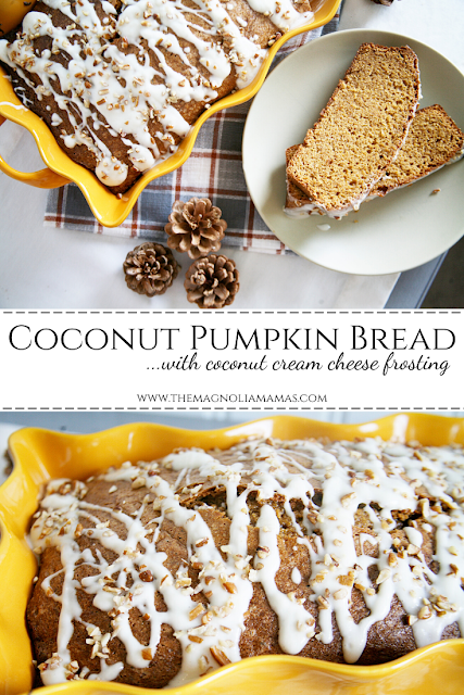 Coconut Pumpkin Bread Recipe