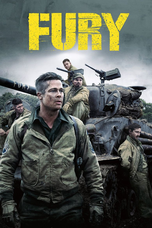 Fury [2014] [DVD9] [NTSC] [Latino]