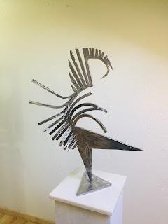 Escultura de Vladimir Higueras Pascual.