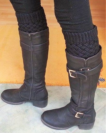 Häkelfieber Austria: Celtic Dream Boot Cuffs