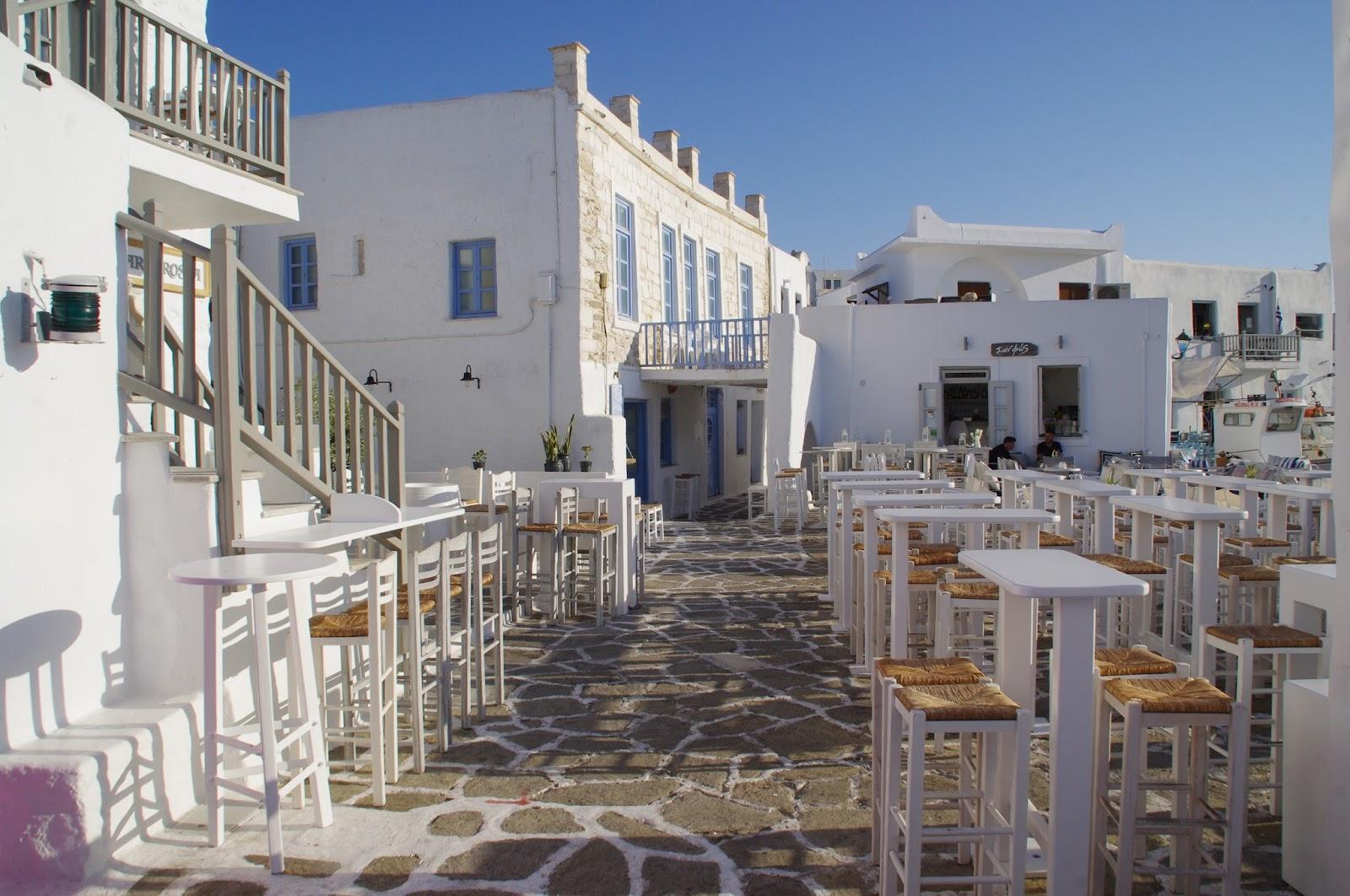 Restaurants Naoussa Paros