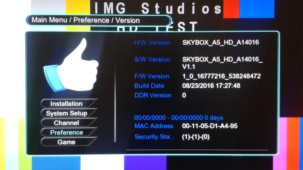 Firmware Tandberg Powervu AVS+ Terbaru Skybox A5 HD